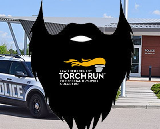 No Shave logo shown on a background photo of the Windsor Police building
